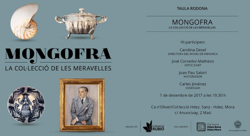 01.12.2017 Taula rodona. Exposició Mongofra, la col·lecció dels Meravelles