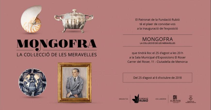 25.08.2018 INAUGURACIÓN EXPOSICIÓN MONGOFRA. LA COL·LECCIÓ DE LES MERAVELLES