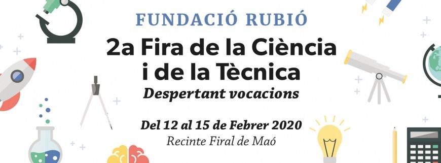 """12 a 15 de febrero """"Fira de la Ciència i de la Tècnica"""""""