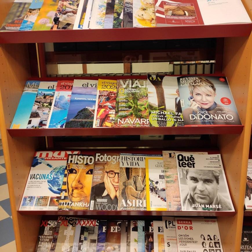 Sección de Revistas de la Biblioteca